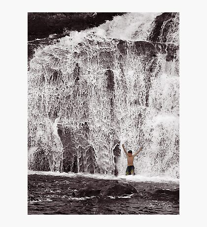 Celebration at Profile Falls Photographic Print