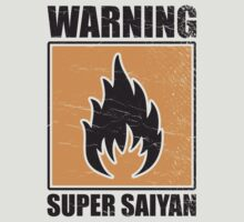 DBZ - Super Saiyan Warning by PPWGD