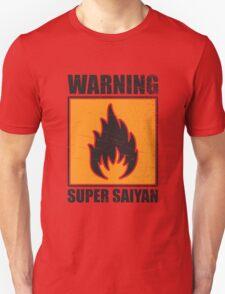DBZ - Super Saiyan Warning T-Shirt