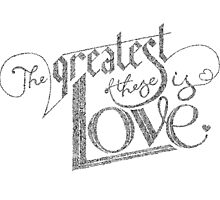 The greatest of these is LOVE by brenda mangalore