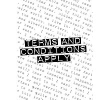 TERMS and CONDITIONS Photographic Print