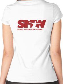 Song Mountain Wushu - Large Logo Women's Fitted Scoop T-Shirt
