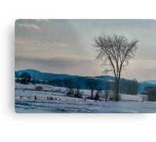 Berkshire Landscape Scene Metal Print