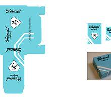 Diamond Toothpick package by Jeff Matter