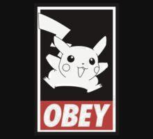 Pikachu Obey ! T-Shirt