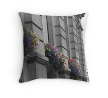 London Streets Throw Pillow
