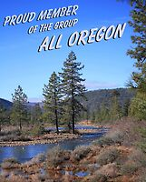 All Oregon Banner by Stephen  Van Tuyl
