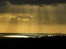 """Ocean,beams & Low cloud"" by debsphotos"
