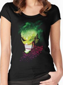 City of Smiles Women's Fitted Scoop T-Shirt