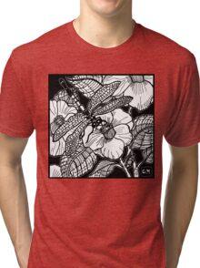 dragonfly Tri-blend T-Shirt