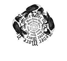 Raven Circle  Photographic Print