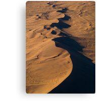 Wandering Dunes - Namibia Canvas Print