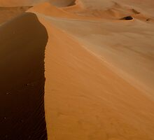Dune Ridge - Namibia by Lisa Germany