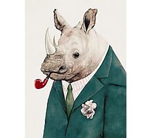 Rhinoceros Green Photographic Print