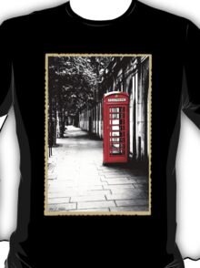 London Calling - Iconic British Phone Box T-Shirt