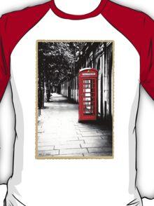 London Calling - Iconic British Phone Box T-Shirt