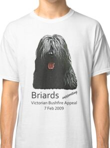 Black Briards supporting Bushfire Relief Classic T-Shirt