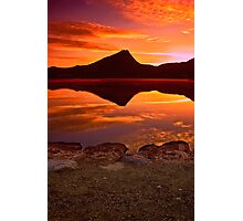 A Fiery Dawn Photographic Print