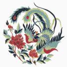 Asian Art Phoenix by Zehda