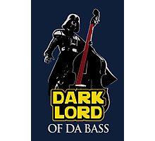 Dark Lord of Da Bass (Star Wars) Photographic Print