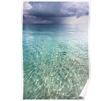 Somewhere is Rainy. Maldives Poster
