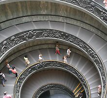 Exiting the Vatican, Rome by Remine