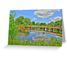 A Very Nice Place to Relax Greeting Card
