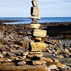 Pile of stones by Violaman