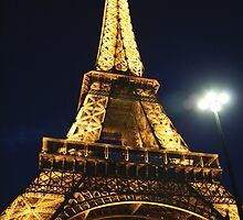 Eiffel Tower, Paris II by Remine