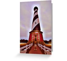 welcome to my lighthouse Greeting Card