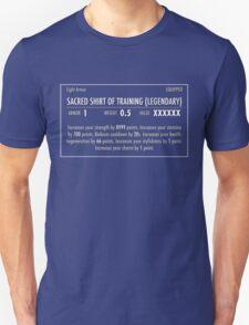 Sacred Shirt of Training (Legendary) white Unisex T-Shirt