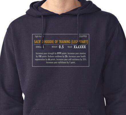 Sacred Hoodie of Training (Legendary) Pullover Hoodie