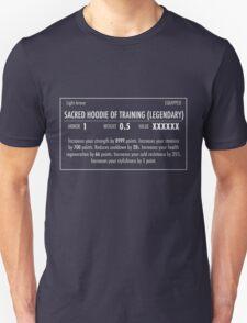 Sacred Hoodie of Training (Legendary) white T-Shirt