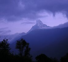 Silver Sunrise, Annapurna Sanctuary, Nepal by BexTrex