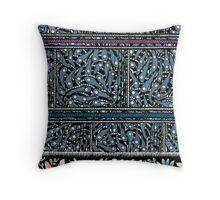 Saree Design 1 Throw Pillow