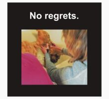 No Regrets Kids Tee
