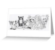 Growing Up Chinese Crested Greeting Card