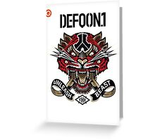 Defqon 1 2014 - Unleash the Beast Greeting Card