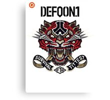 Defqon 1 2014 - Survival of the Fittest Canvas Print