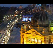 Iconic Melbourne by Marie Watt