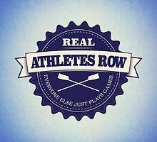 Real Athletes Row by Richard Rabassa