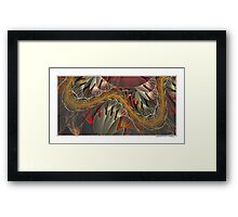 RoLLeRCoAsTeR...ThE DrAgOnS TaiL... Framed Print