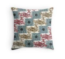 Saree Design 4 Throw Pillow