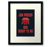 Jam Packed Framed Print