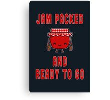 Jam Packed Canvas Print