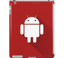 Red Droid iPad Case/Skin