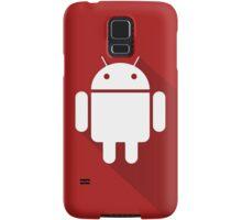 Red Droid Samsung Galaxy Case/Skin