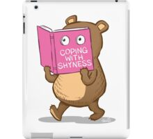 Shy Bear iPad Case/Skin