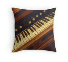 Great Great Grandma's Music Echoes Thru These Halls © Throw Pillow