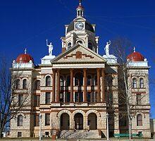 Coryell Co. Courthouse, Gatesville, TX. circa 1897 by John Thomason